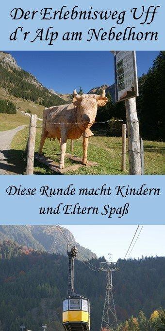 Der Erlebniswanderweg Uff d'r Alp am Nebelhorn bei Oberstdorf ist eine alpine Runde für Familien und Ältere