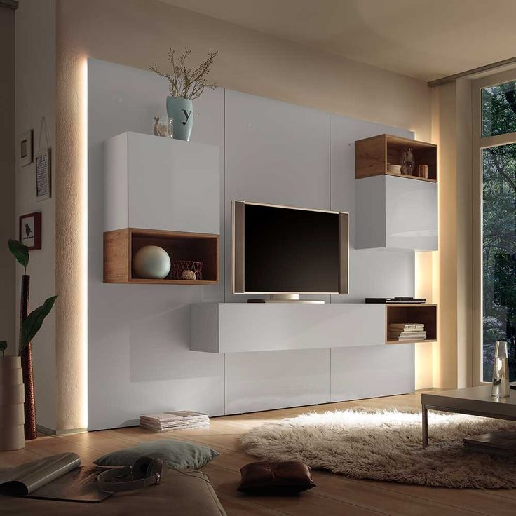 Wohnwand design modern  18 best TV komoda images on Pinterest | Tv units, Cabinets and ...