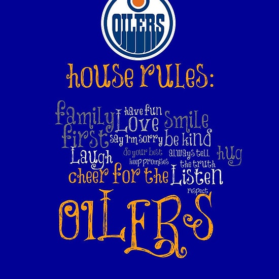 Edmonton Oilers House Rules