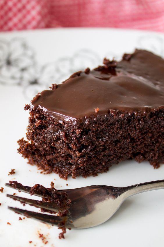 Saftiger Schokokuchen - Pornokuchen - chocolate cake