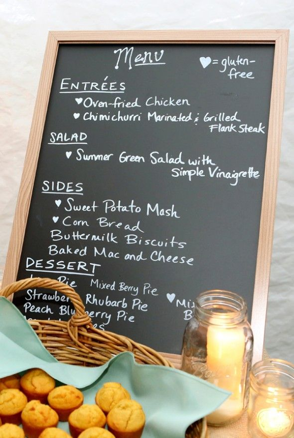 Tips For Planning A Seasonal Wedding Menu from rusticweddingchic.com & @Rambling House