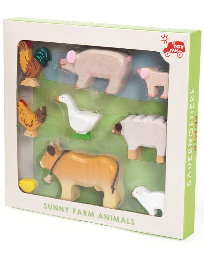 Bauernhoftiere SUNNY FARM ANIMAL SET bunt