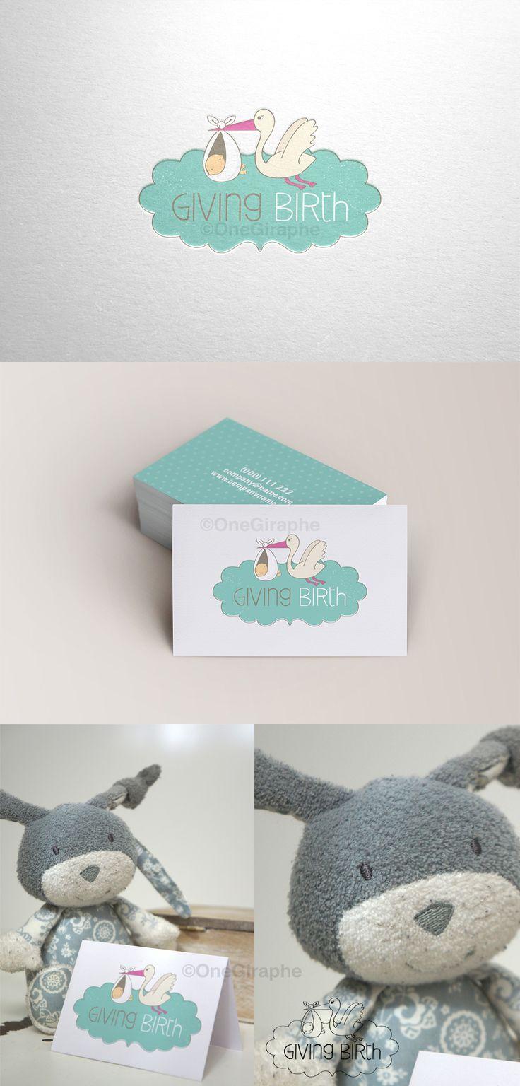 Branding for Sale! Customisable Fonts and Colors - Order at: Onegiraphe@gmail.com  www.One-Giraphe.com #newborn #baby #logo #logodesign #cute #sleep #sleepy #graphic #design #designer #portfolio #behance #logopond #brandstack #store #kids #children #logodesign #design #designer #brand #brandidentity #stork #bow #nursery