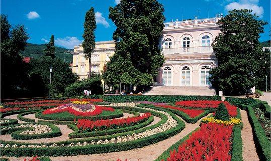 Kvarner: Opatija - Villa Angiolina #Opatija #croatia  www.casademar.com
