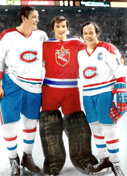 Mahovlich,tretiak and cournoyer