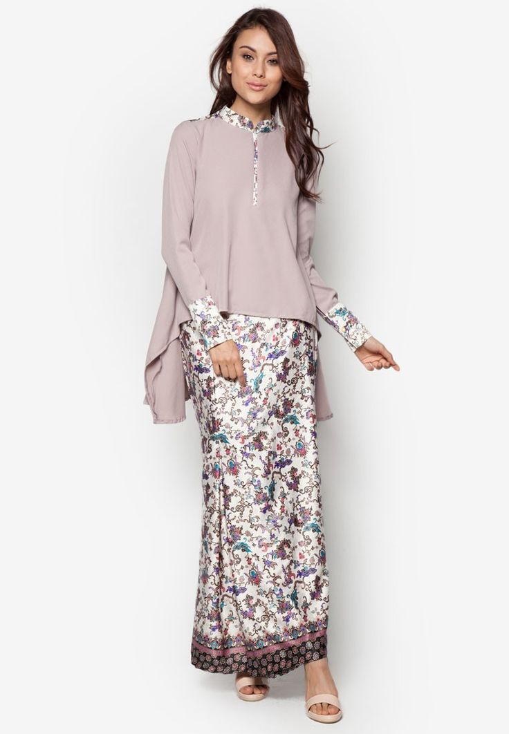 Marshal Kurung from FLEURÉ in grey_1