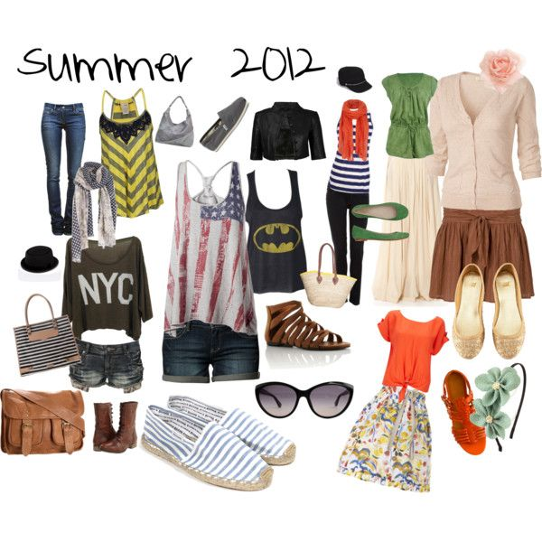 Summer 2012, created by steenta on Polyvore