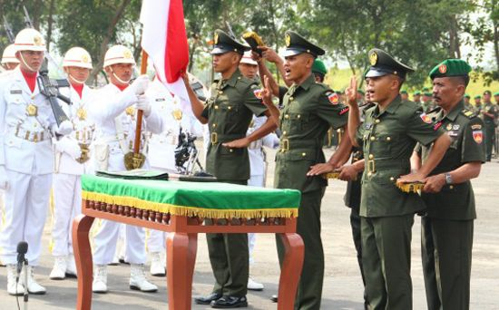 Penerimaan Tamtama PK TNI AD TA 2017 Gel. I