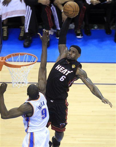 2012 NBA Finals: Game 2 - Running Diary of LeBron James