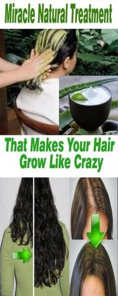 Miracle Natural Treatment That Makes Your Hair Grow 100% Results