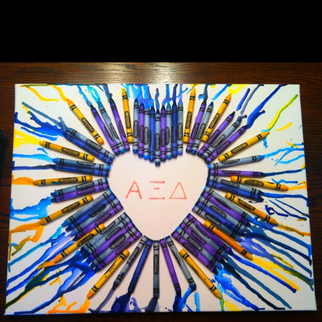 I made this heart sunshine to show my love for AXiD :)