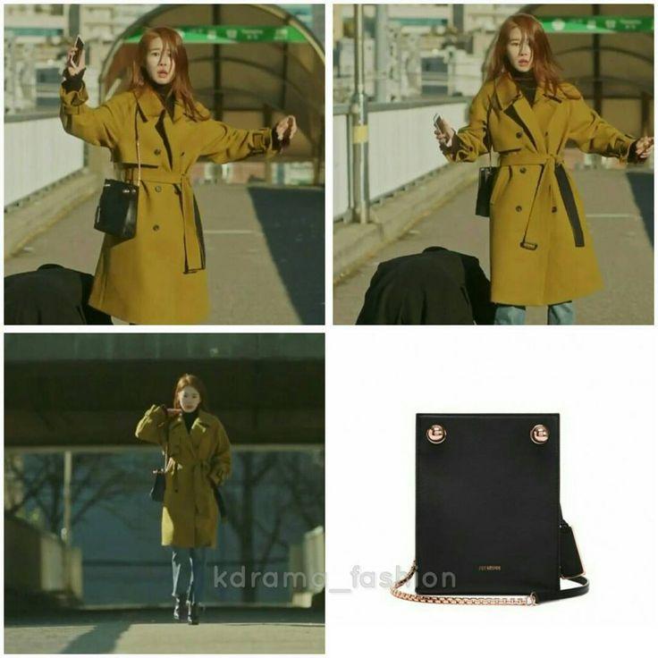 "395 lượt thích, 7 bình luận - @kdrama_fashion trên Instagram: ""Yoo In Na carried JOY GRYSON POPPY Bag_ Black ₩398,000 in Goblin Drama Episode 6. Photo credit to…"""
