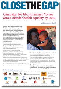 Close the Gap: Indigenous Health Campaign