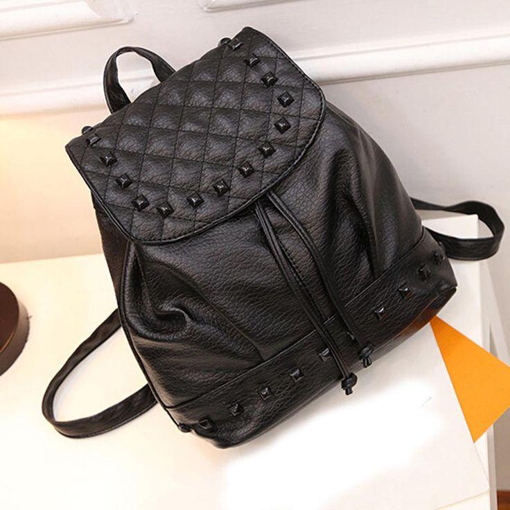 $9.46 (Buy here: https://alitems.com/g/1e8d114494ebda23ff8b16525dc3e8/?i=5&ulp=https%3A%2F%2Fwww.aliexpress.com%2Fitem%2FGirl-Rivet-Leather-School-Bag-Travel-Backpack-Satchel-Women-Shoulder-Rucksack%2F32718355765.html ) Girl Rivet Leather School Bag Travel Backpack Satchel Women Shoulder Rucksack for just $9.46