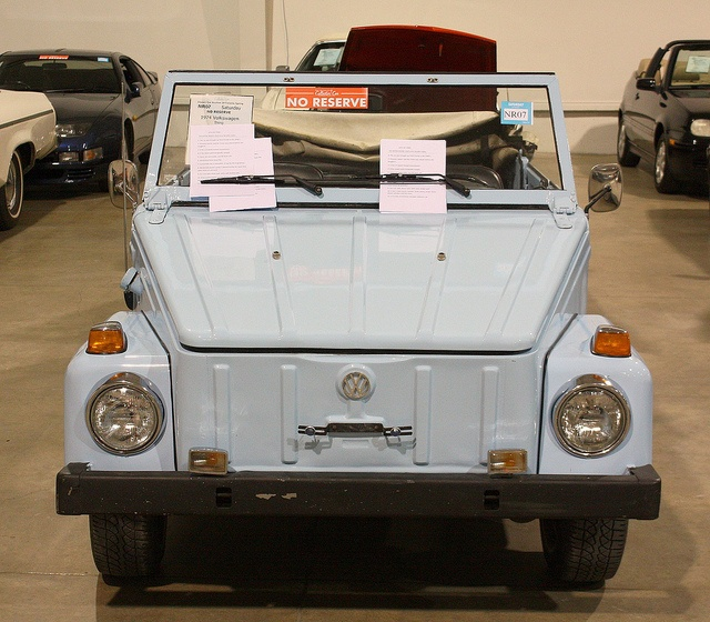 1974 VW Thing. This is the exact car I want, for real, color and everything.