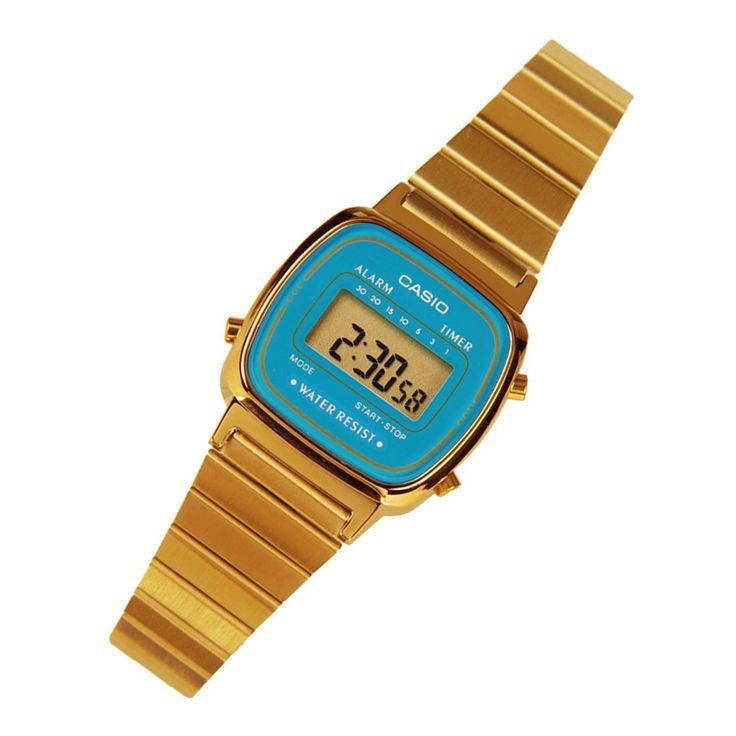 A-Watches.com - Casio Ladies Watch LA670WGA-2D, S$47.20 (http://www.a-watches.com/la670wga-2d/)