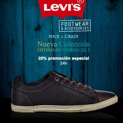 -20% DESCUENTO en Levi's Footwear & Accesories ¡Sólo 24h!