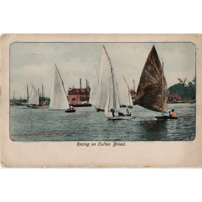 JW Dent Postcard Racing on Oulton Broad Yachts on eBid United Kingdom | 180508312