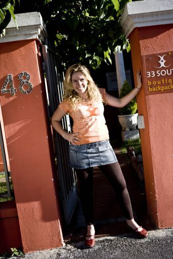 Kim - the lovely owner of 33 South