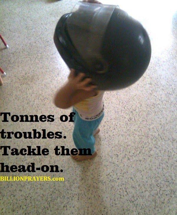 billion prayers prayer to tackle troubles