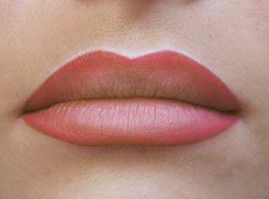 Image result for maquillage permanent levres eye liner femme de 50 ans