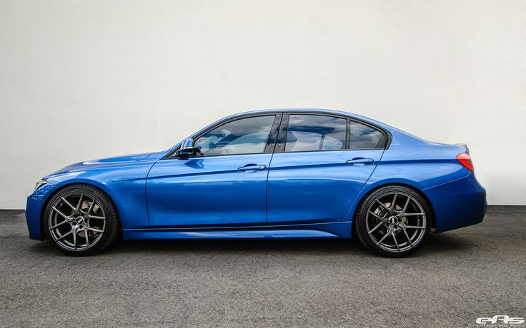 An Estoril Blue BMW F30 328i Gets Modded At European Auto Source. The beautiful blue shade is often associated with M Sport Package