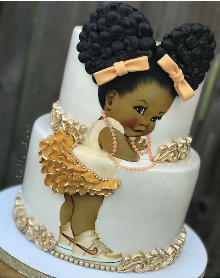 OMG her little tutu and Nikes!! This cake is too cute with the beautiful little girl and amazing detail.