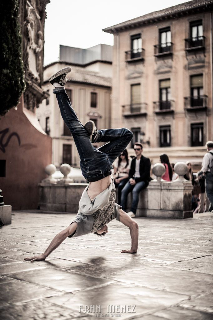 Break Dance photographer in Granada. Fran Ménez