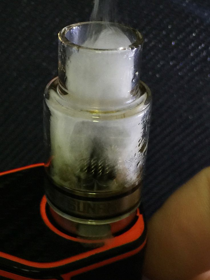 Dual, 26g, quad twisted, 6 wraps, 2.5m, .1ohm, 110w on the Geekvape Tsunami RDA with the Wismec RX200. Awesome clouds and favor. An eJuice reviver!!