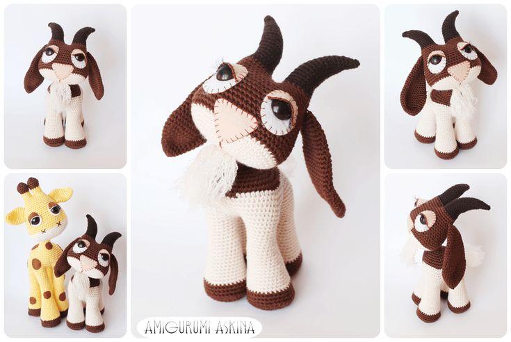 Amigurumi Masum Keçi, Amigurumi Goat #amigurumi #amigurumigoat #orguoyuncak