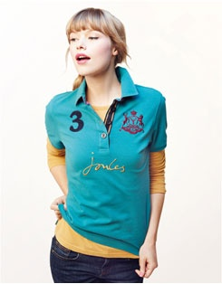 I absolutely LOVE Joules polos! BEAUFORT LARK Womens Polo Shirt, Classic Joules Style