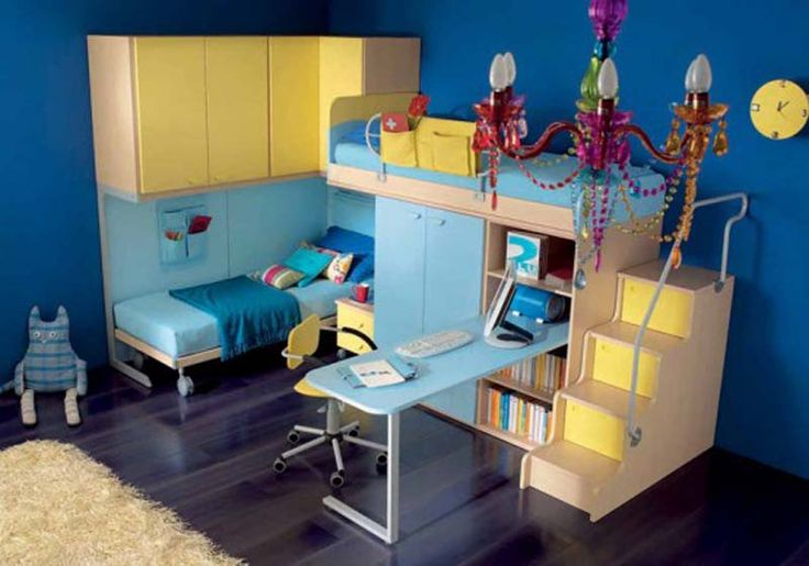 rooms | cool teen rooms 555x388 super cool teen bedroom design