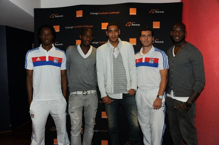 Bakari Koné, Anthony Modeste, Guillaume Hoarau, Rémy Vercoutre et Michael Ciani