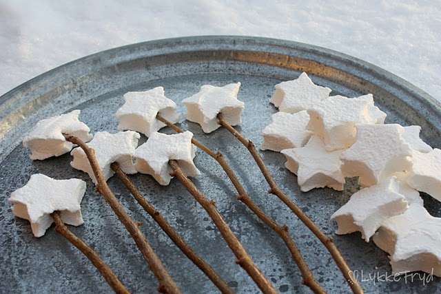star mallows http://lykkefryd.blogspot.com/