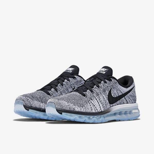 Affordable Nike Flyknit Air Max 2014 Mens Running Shoes Grey