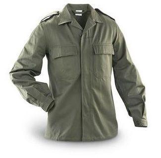Рубашка бельгийская армейская Рубашки армейские полевые военные Камуфляж Военная одежда и Форма НАТО - Militarium.ru