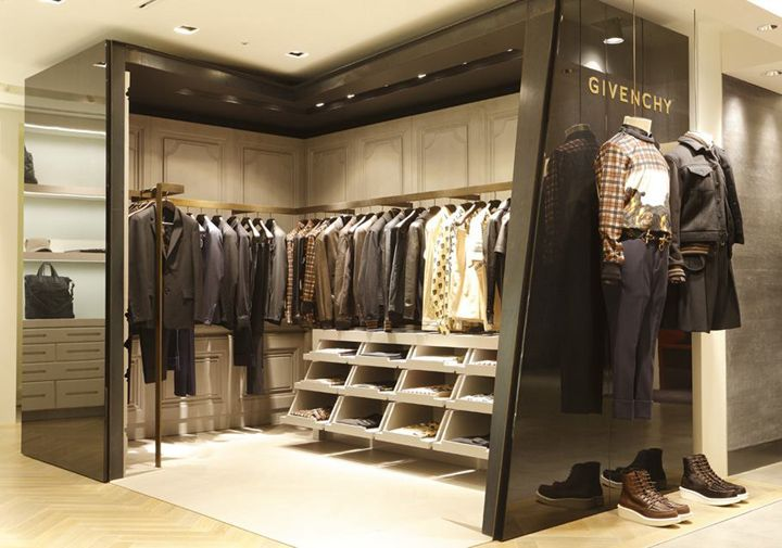 Givenchy shop-in-shop at Hankyu Men's store, Tokyo