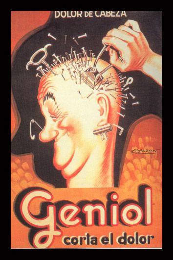 Geniol. Publicidad antigua.