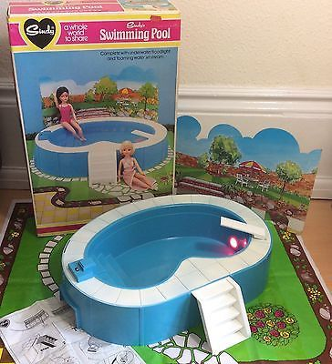 1000 images about other doll spaces on pinterest barbie house miniature and happy things for Barbie doll house with swimming pool