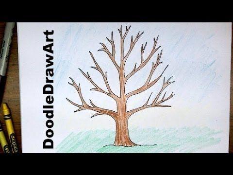 Met dit filmpje heb ik de boom op mijn achtergrond getekend