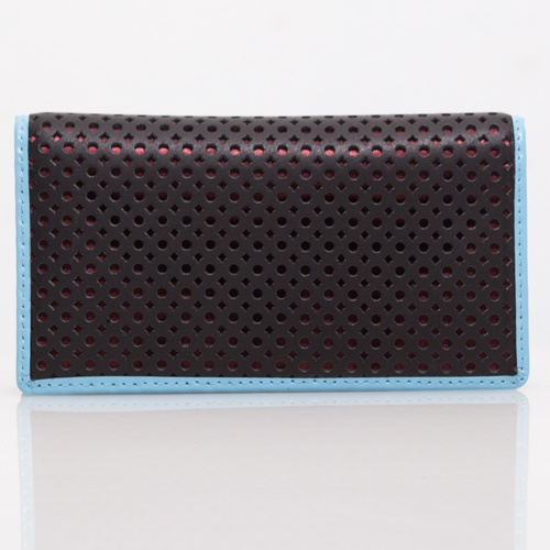 Black Perforated Wallet - DNC - IDR 125.000