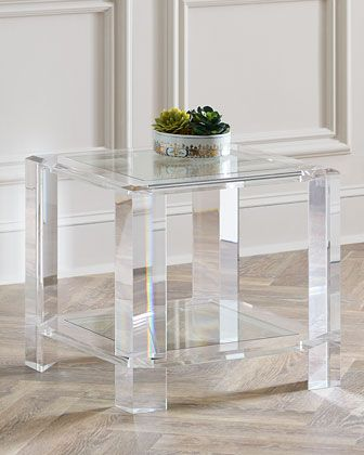 Langston Acrylic Side Table Part 57