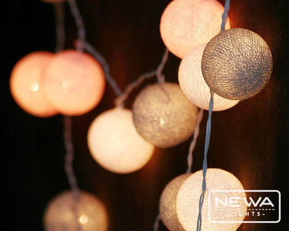 Pink String Lights Best 169 Best Newa Lights Images On Pinterest  String Lights White Design Ideas