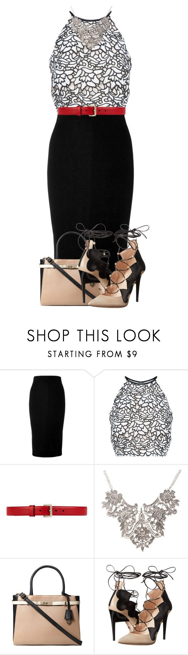 """Untitled #729"" by luhmartins ❤ liked on Polyvore featuring Victoria Beckham, Keepsake the Label, Gucci, Dorothy Perkins and Ruthie Davis"