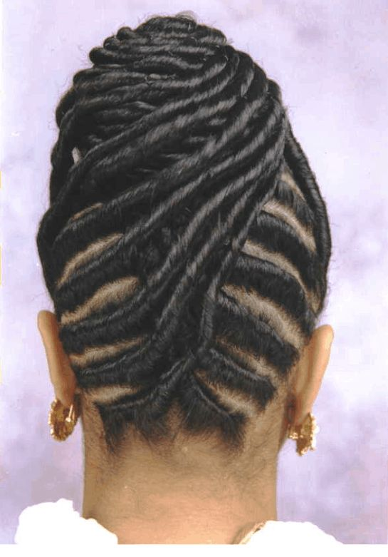 braided-updo-haircut-for-black-women | Hairstyles For