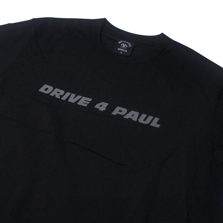 DEEP X ROWW DRIVE 4 PAUL T-SHIRT