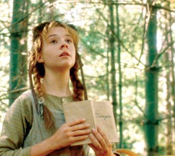 Anne of Green Gables....I love this series.  I have all 8 books.