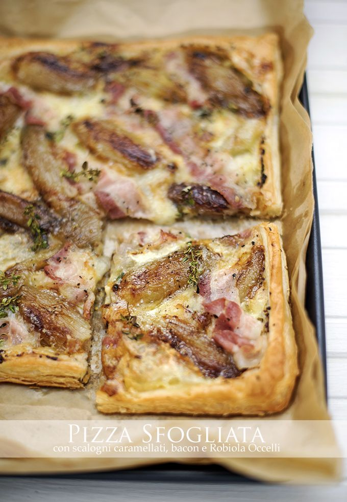 pane&burro: La ricetta salva cena del venerdì: pizza sfogliata...