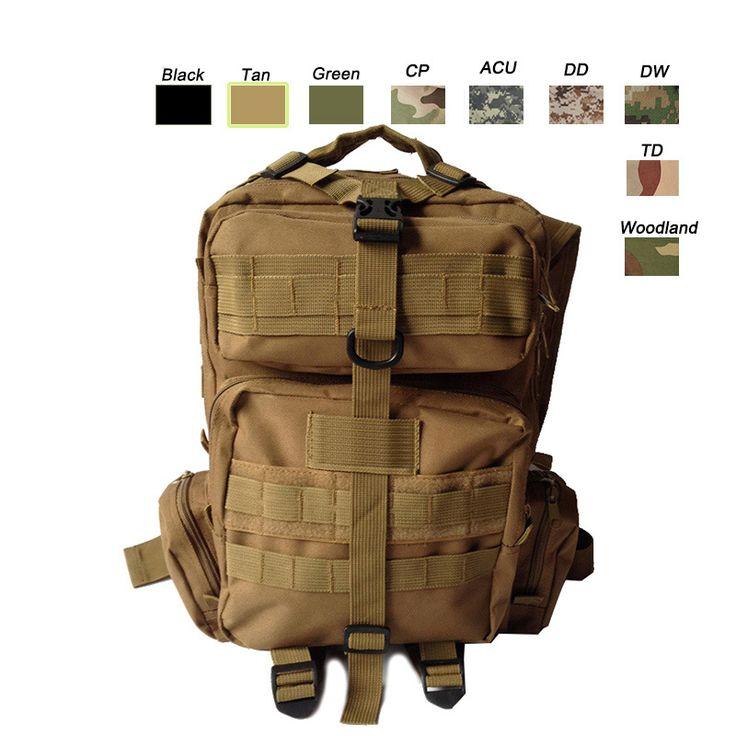 Tactical Backpack, Tactical Pack, Tactical Bag, Tactical Rucksack, Tactical Knapsack, Molle bag,Assault Bag,Combat Bag, Military Camouflage bag-Product Center-Sunnysoutdoor Co., LTD-