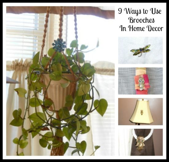 9 Ways To Use Brooches In Home Decor Amazing Pictures